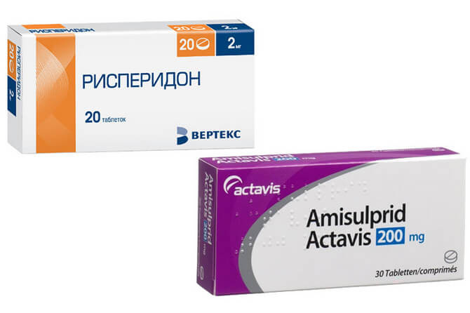 Нейролептики применяемые при шизофрении