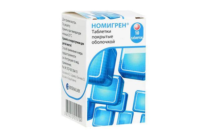 Препарат применяемый в терапии мигрени