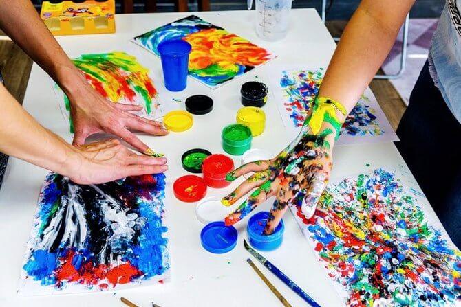 Рисунки руками