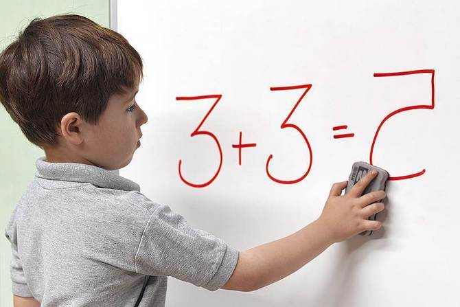 Discalculia - how do you introduce a child to numbers? Dyscalculia test.