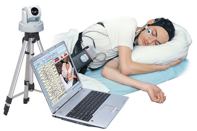 Проведение электроэнцефалографии в ночное время