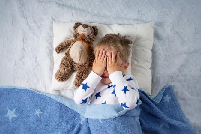 Ночные страхи у ребёнка