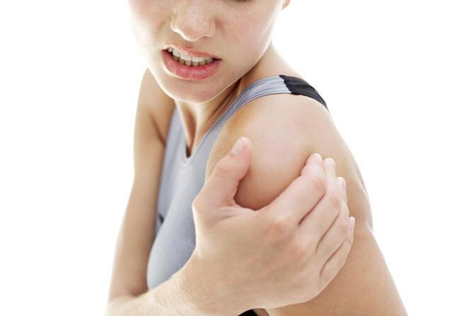 Повреждение нерва плечевого сустава