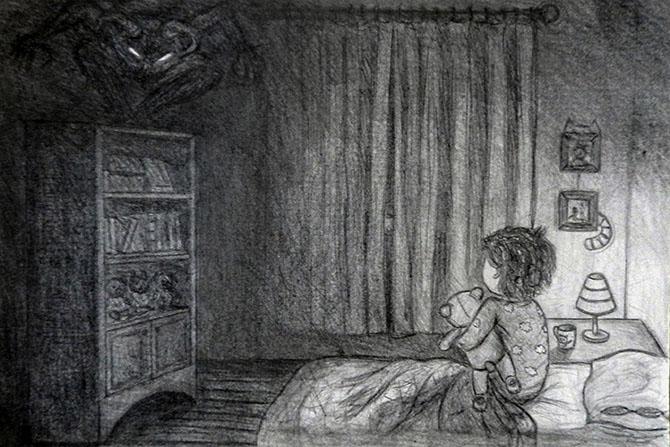 Боязнь темноты у детей